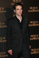 "PARIS, FRANCE - APRIL 28:  Robert Pattinson attends ""Water for Elephants' Premiere at Le Grand Rex Theater on April 28, 2011 in Paris, France.  (Photo by Tony Barson/FilmMagic)"