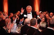 Don Herak ('46), 2010 Ignatian Spirit Award winner and Trustee Emeritus stands to be recognized