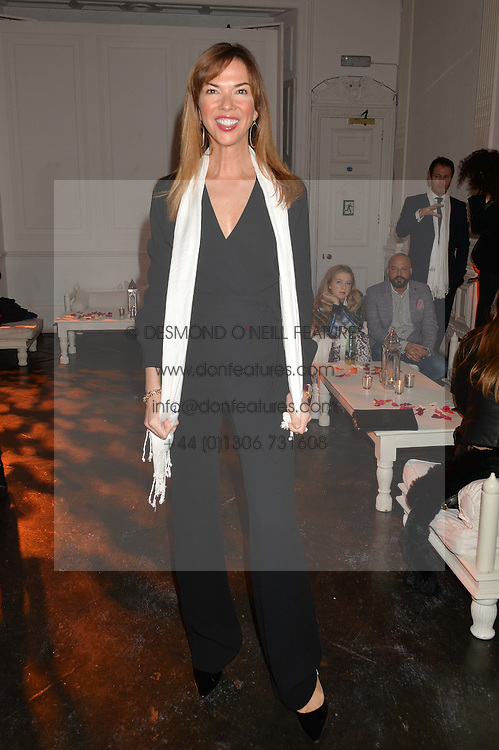 HEATHER KERZNER at White by Agadir hosted by the Moroccan National Tourist Office to celebrate the White City in Morocco in the presence of H.H.Princess Lalla Joumala, Ambassador of HM The King of Morocco held at Il Bottaccio, 9 Grosvenor Place, London on 4th November 2014.