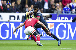March 18, 2017 - St Denis, France, France - Noa Nakaitaci (France) vs Williams Liam  (Credit Image: © Panoramic via ZUMA Press)