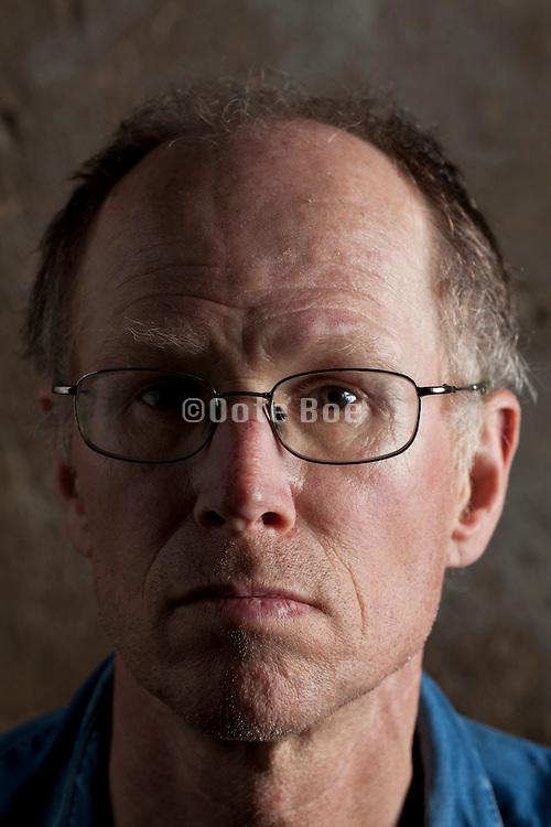 close up portrait adult man