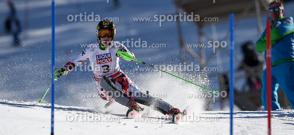 14.02.2015, Birds of Prey, Beaver Creek, USA, FIS Weltmeisterschaften Ski Alpin, Vail Beaver Creek 2015, Damen, Slalom, 2. Durchgang, im Bild Kathrin Zettel (AUT) // Kathrin Zettel of Austria in action during 2nd run of the ladie's Slalom of FIS Ski World Championships 2015 at the Birds of Prey in Beaver Creek, United States on 2015/02/14. EXPA Pictures © 2015, PhotoCredit: EXPA/ Jonas Ericson