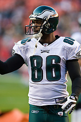 Philadelphia Eagles wide receiver Reggie Brown (86).  The Washington Redskins defeated the Philadelphia Eagles 10-3 in an NFL football game held at Fedex Field in Landover, Maryland on Sunday, December 21, 2008.