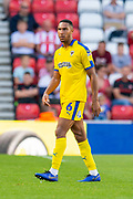 Terell Thomas (#6) of AFC Wimbledon during the EFL Sky Bet League 1 match between Sunderland and AFC Wimbledon at the Stadium Of Light, Sunderland, England on 24 August 2019.