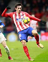 Atletico de Madrid's Stefan Savic during La Liga match. December 16,2017. (ALTERPHOTOS/Acero)