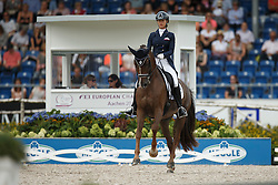 Aframeeva Marina, (RUS), Vosk<br /> Grand Prix Special<br /> European Championships - Aachen 2015<br /> © Hippo Foto - Dirk Caremans<br /> 15/08/15