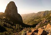 The Unseco world heritage sight Garajonay,La Gomera, Canary Islands, Spain