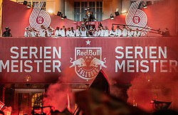 26.05.2019, Schloss Klessheim, Salzburg, AUT, 1. FBL, FC Red Bull Salzburg Meisterfeier, im Bild Christoph Leitgeb (FC Red Bull Salzburg) mit dem OeFB Cup Siegerpokal // during the Austrian Football Bundesliga Championsship Celebration at the Schloss Klessheim in Salzburg, Austria on 2019/05/26. EXPA Pictures © 2019, PhotoCredit: EXPA/ JFK