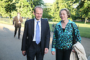 Mr. and Mrs. Andrew Marr, Launch of Tina Brown's book 'The Diana Chronicles' hosted by Reuters. Serpentine Gallery. 18 June 2007.  -DO NOT ARCHIVE-© Copyright Photograph by Dafydd Jones. 248 Clapham Rd. London SW9 0PZ. Tel 0207 820 0771. www.dafjones.com.