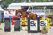 Mauricio Ruiz - Cupcake<br /> FEI World Breeding Jumping Championships for Young Horses 2016<br /> © DigiShots