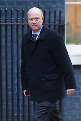 © licensed to London News Pictures. London, UK 04/02/2014. Justice Secretary Chris Grayling attending to a cabinet meeting in Downing Street on Tuesday, 4 February 2014. Photo credit: Tolga Akmen/LNP
