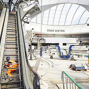 Stannah Escalator Installation at New Street Station. Birmingham Gateway Project