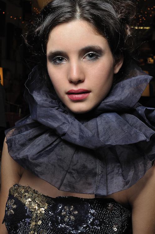 Kimberly Hendrix designs, December, 2010. Brian James Gallery Photography. JULIA KRAVITS, model.