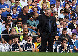 28.08.2010, Stamford Bridge, London, ENG, PL, Chelsea FC vs Stoke City, im Bild Carlo Ancelotti , Manager of Chelsea, EXPA Pictures © 2010, PhotoCredit: EXPA/ IPS/ M. Pozzetti *** ATTENTION *** UK AND FRANCE OUT! / SPORTIDA PHOTO AGENCY