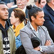 NLD/Amsterdam/20160504 - Nationale Dodenherdenking 2016 Dam Amsterdam, Sunnery James en Ryan Marciano