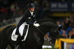 Stegars Terhi, (FIN), Axis TSF<br /> Grand Prix Kür<br /> Reem Acra FEI World Cup Dressage<br /> Stuttgart - German Masters 2015<br /> © Hippo Foto - Stefan Lafrentz