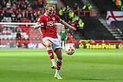 Bristol City's Luke Ayling during the Sky Bet Championship match between Bristol City and Leeds United at Ashton Gate, Bristol, England on 19 August 2015. Photo by Shane Healey.