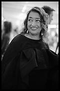 ZAHA HADID, The Neo Romantic Art Gala in aid of the NSPCC. Masterpiece. Chelsea. London.  30 June 2015
