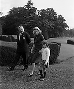 26/08/1963<br /> 08/26/1963<br /> 26 August 1963<br /> Royal Visit by Prince Rainier and Princess Grace of Monaco. Princess Grace and Princess Caroline walk in the grounds of Carton House, Maynooth, Co. Kildare as they start their three week Irish holiday.