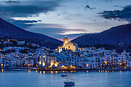 The village of Cadaques, Costa Brava, Spain