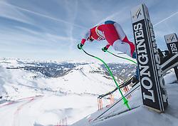09.01.2020, Keelberloch Rennstrecke, Altenmark, AUT, FIS Weltcup Ski Alpin, Abfahrt, Damen, 1. Training, im Bild Priska Nufer (SUI) // Priska Nufer of Switzerland in action during her 1st training run for the women's Downhill of FIS ski alpine world cup at the Keelberloch Rennstrecke in Altenmark, Austria on 2020/01/09. EXPA Pictures © 2020, PhotoCredit: EXPA/ Johann Groder