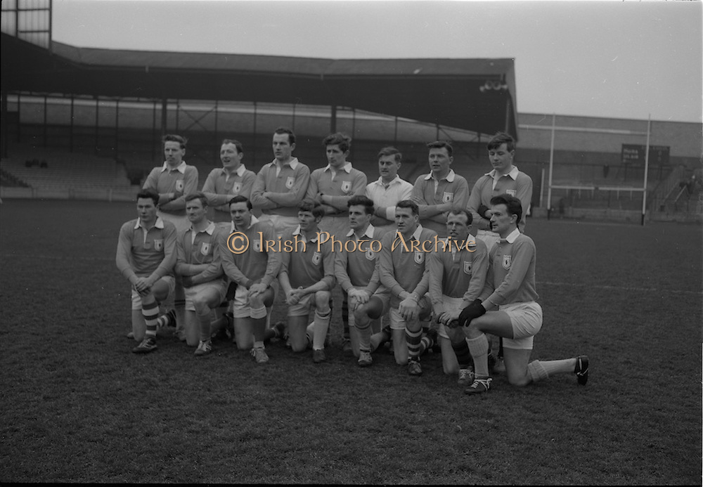 21/02/1965<br /> 02/21/1965<br /> 21 February 1965<br /> Munster v Ulster Railway Cup semi-final at Croke Park. The final score was Ulster 0-14 Munster 0-9.<br /> The Ulster team that defeated Munster.