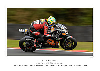 2009 MCE Insurance British Superbike Championship. Oulton Park, Cheshire, United Kingdom. 9/10/11 October 2009.   (45) - Glen Richards (AUS) - Honda - HM Plant Honda.  World Copyright: Peter Taylor/PSP. Copy of publication required for printed pictures. Every used picture is fee-liable.