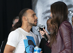 January 25, 2019 - New York, New York, United States - Keith Thurman attends official weigh-in for WBA World Welterweight Championship at Barclays Center (Credit Image: © Lev Radin/Pacific Press via ZUMA Wire)