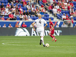 September 22, 2018 - Harrison, New Jersey, United States - Michael Bradley (4) of Toronto FC controls ball during regular MLS game against New York Red Bulls at Red Bull Arena Red Bulls won 2 - 0 (Credit Image: © Lev Radin/Pacific Press via ZUMA Wire)