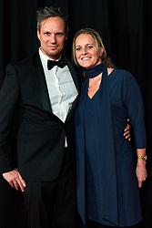 18-12-2019 NED: Sports gala NOC * NSF 2019, Amsterdam<br /> The traditional NOC NSF Sports Gala takes place in the AFAS in Amsterdam / Richard de Kogel en Rebecca de Kogel-Kadijk