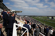Crowds enjoy the sunshine and racing atThe Randox Health Grand National on Grand National Day at at Aintree, Liverpool, United Kingdom on 14 April 2018. Picture by Craig Galloway.