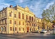 Magistrat – dawniej Podgórski Ratusz<br /> Obecnie jest siedzibą  i Wydziału Architektury i Urbanistyki Urzędu Miasta Krakowa oraz Rady Dzielnicy XIII.