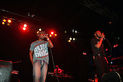 l to r: Talib Kweli and MOS DEF at MOS DEF Presents: The Ecstatic Tour w/ Jay Electronica and Talib Kweli held at The Electric Factory on September 18, 2009 in  Philidelphia, Pennsylvania