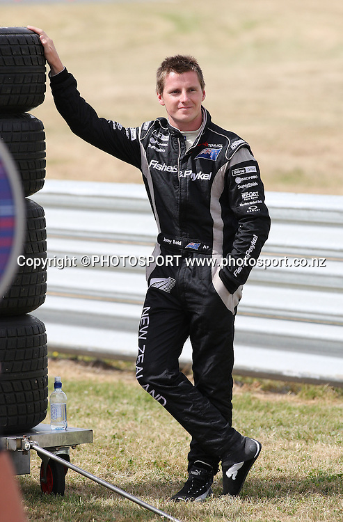 A1 Team New Zealand's  Jonny Reid. Taupo, New Zealand. Sunday 20  January 2008. Photo: Andrew Cornaga/PHOTOSPORT