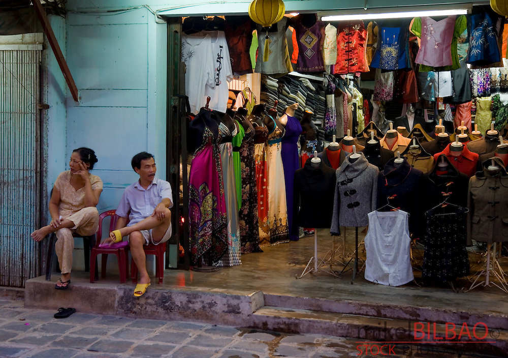 clothes shop.<br />