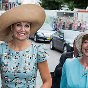 NLD/Maastricht/20140830 - Festivities on the occasion of the 200th jubilee of the Kingdom of the Netherlands in Maastricht - 200 Jaar Koninkrijk der Nederlanden, Queen Máxima and Daniela Schadt