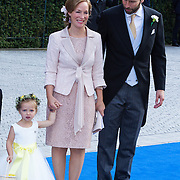 NLD/Apeldoorn/20130105 - Huwelijk prins Jaime en prinses Viktoria Cservenyak, bruidskinderen en prinses Margarita en partner Tjalling ten Cate