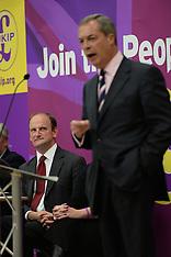 SEP 24 2014 Nigel Farage & Douglas Carswell attend public meeting in Clacton