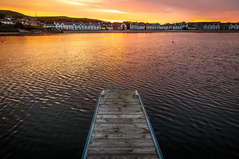 The town of Port Ellen, Isle of Islay, Scotland, July 15, 2015. Gary He/DRAMBOX MEDIA LIBRARY