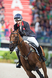 Zara Philips, (GBR), High Kingdom - Jumping Eventing - Alltech FEI World Equestrian Games™ 2014 - Normandy, France.<br /> © Hippo Foto Team - Jon Stroud<br /> 31-08-14