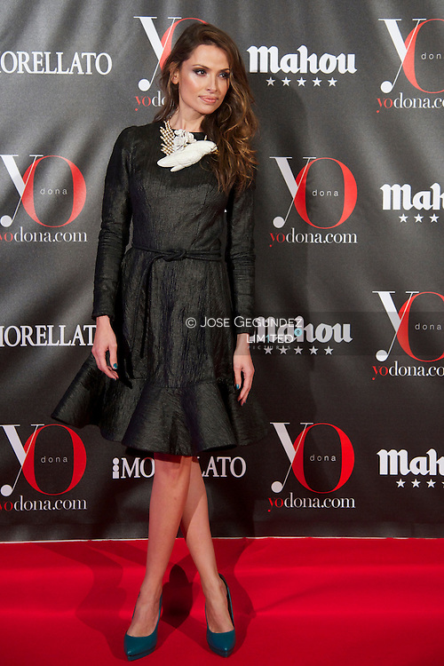 Almudena Fernandez attends 'Yo Dona' Magazine's Mask Party at Casino on 18 February, 2013 in Madrid