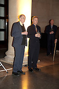 SIR NICHOLAS GOODISON; ADRIAN GLEW, Archive 40 Reception. 40th Anniversary of the Tate archive. Tate Britain. Millbank. London. 25 October 2010. -DO NOT ARCHIVE-© Copyright Photograph by Dafydd Jones. 248 Clapham Rd. London SW9 0PZ. Tel 0207 820 0771. www.dafjones.com.
