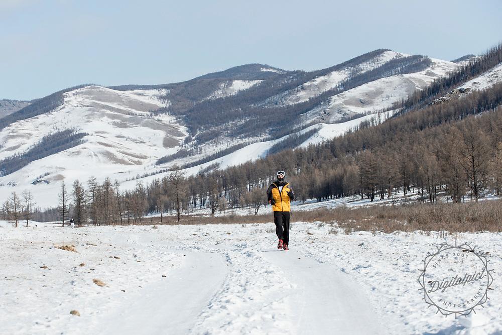 Inaugural Genghis Khan Ice Marathon 2016