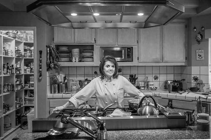 Chef Lana, Casa Lana, Calistoga, California