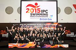Volunteers  at 2015 IPC Swimming World Championships -