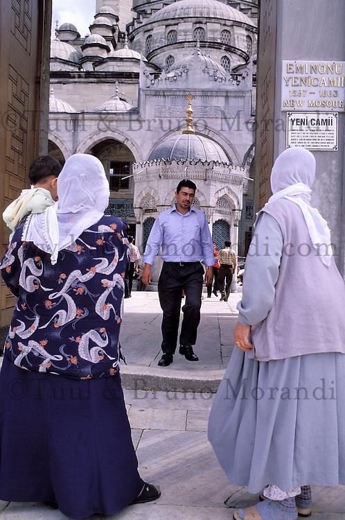 Turquie - Istanbul / Istanboul - Mosquée Rustem Pacha