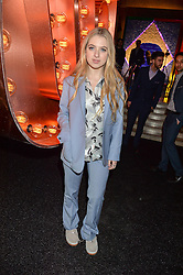 ANAIS GALLAGHER at the Warner Music Group & Ciroc Vodka Brit Awards After Party held at The Freemason's Hall, 60 Great Queen St, London on 24th February 2016.