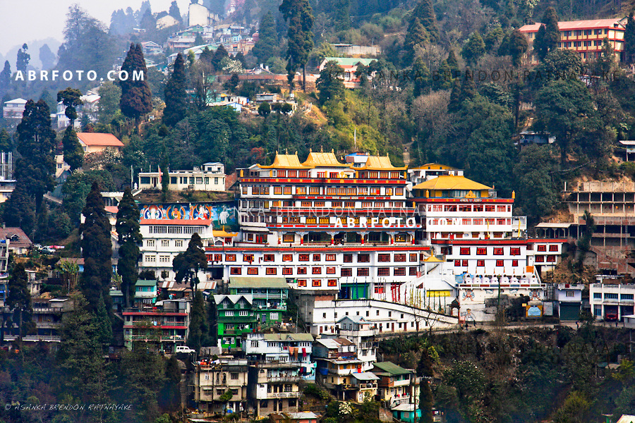 Monestary in Darjeeling.