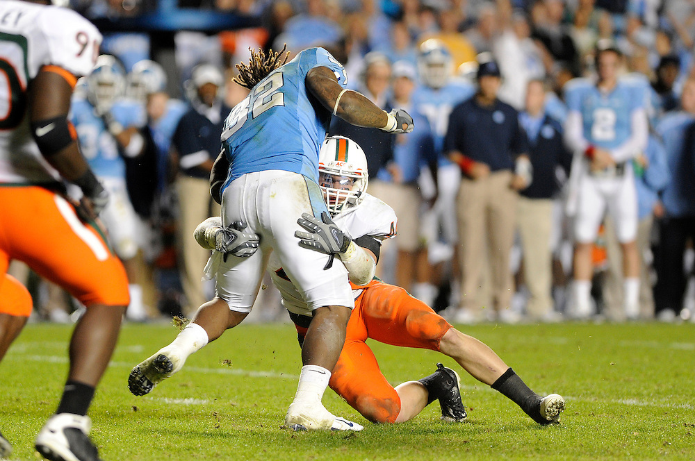 2009 Miami Hurricanes Football @ North Carolina