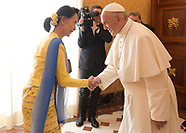 Pope Francis Meets With Aung San Suu Kyi - 4 May 2017